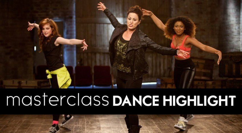 Мастер-класс по танцам от Тины Лэндон