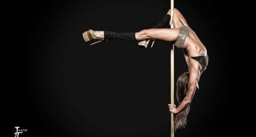 Уроки pole dance от команды PoleAerialDance (часть 1)
