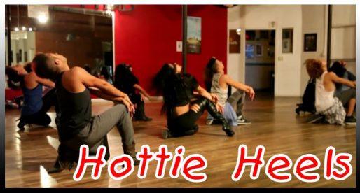 Hottie heels. Dance video by Michelle Jersey Maniscalco. Ч.1