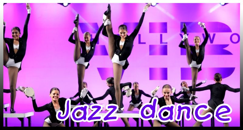 Jazz dance video