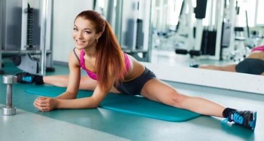 Уроки фитнеса от Катерины Буйды: «Супер растяжка и гибкость»