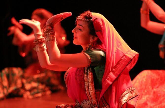 Школа индийского танца «ANJALI»