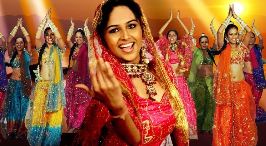Индийский танец Болливуд: уроки онлайн для начинающих (ч. 2)