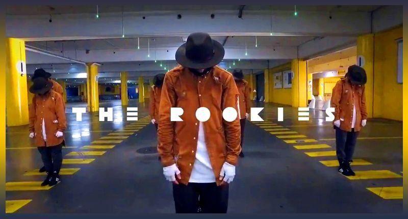 The Rookies crew. Street dance (hip-hop) team