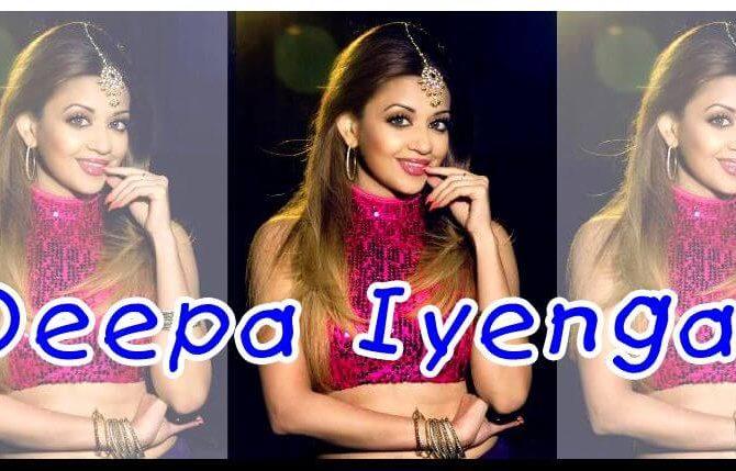 Танцор и хореограф Deepa Iyengar