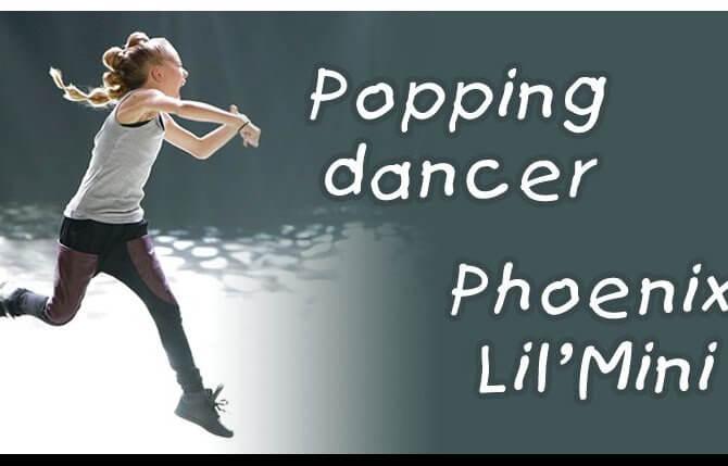 10-летний ребенок танцует. Popping dancer — Phoenix Lil'Mini