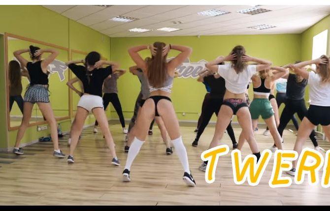 Hot twerk dance video